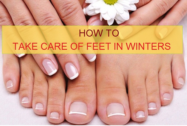 feet care in winters