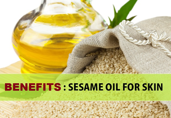 benefits of sesame soil for skin