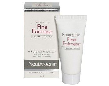 neutrogena fairness cream for men