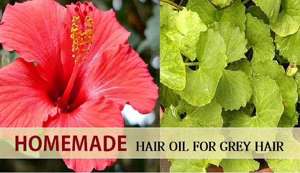 hair oil for grey hair