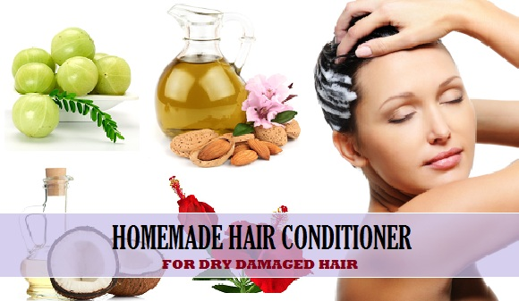 homemade hair conditioner for dry damaged hair and benefits