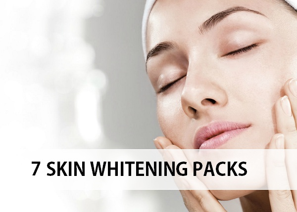 skin whitening face packs and masks