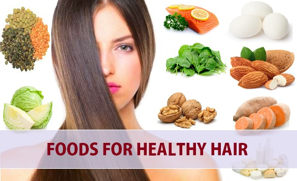 Top 10 Best Foods For Healthy Hair To Stop Hair Loss And Hair Growth