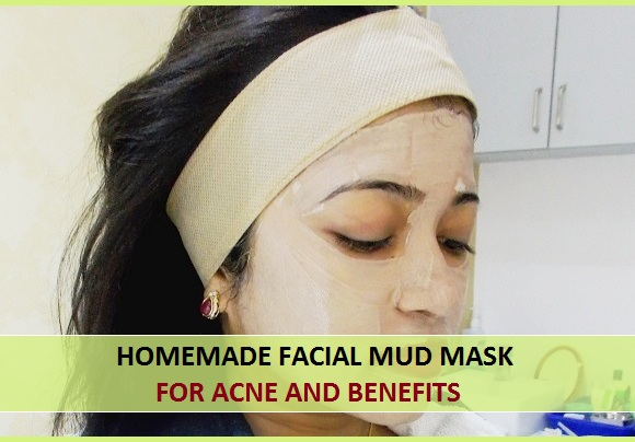Homemade Facial Mud Mask for Acne