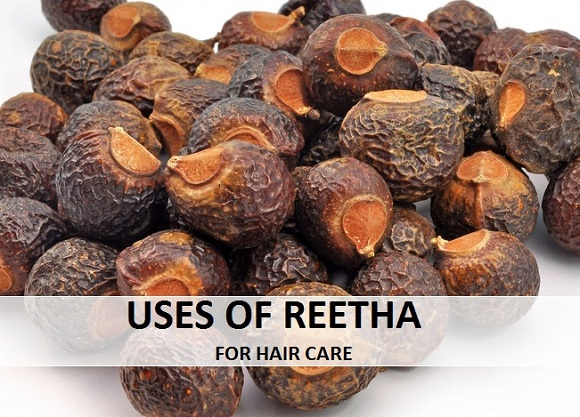 uses of reetha soapnut for hair,