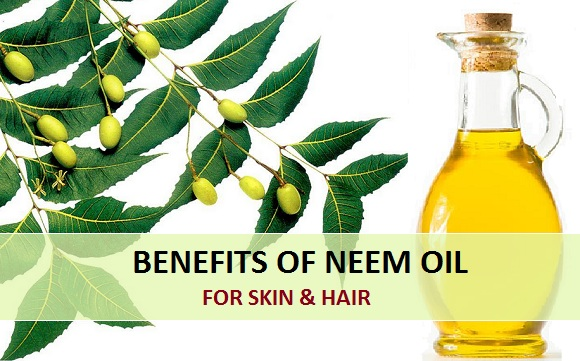 benefits of neem oil for skin and hair