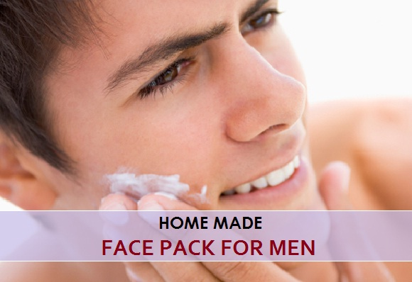 home made face pack for men
