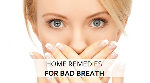 home remedies for bad breath odour