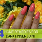 Home Remedies for dark finger joints and fingers