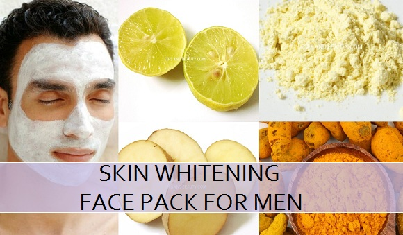 5 Best Homemade Skin Whitening Face Packs for Men
