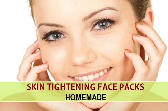 Skin tightening face packs and masks at