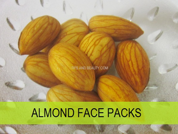 10 Best Almond (Badam) Face packs, Masks for skin whitening and glow