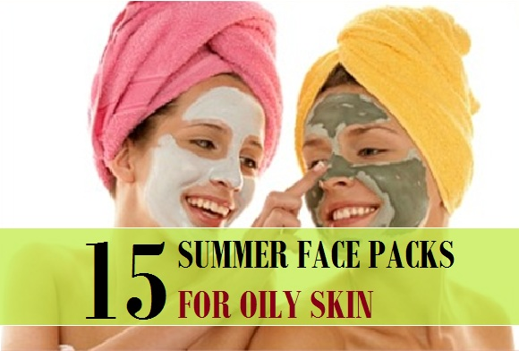 homemade summer face pack  for oily skin