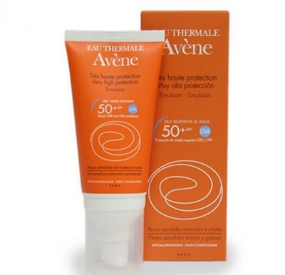 avene sunscreen for dry skin