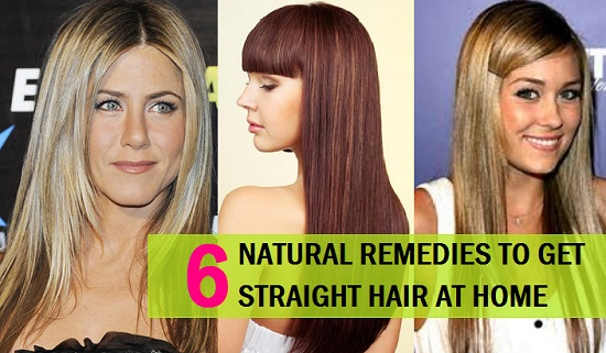 How To Get Silky Straight Hair Naturally At Home