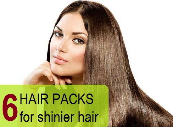 homemade hair packs to make hair shinier