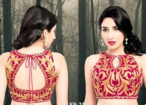 Top 15 latest blouse designs for lehenga 2018 update for Top design photos