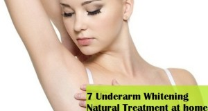 7 Underarm Whitening Natural Treatment at home