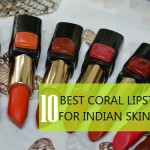 10 Best Coral Lipsticks for Indian Skin Tone and Complexion