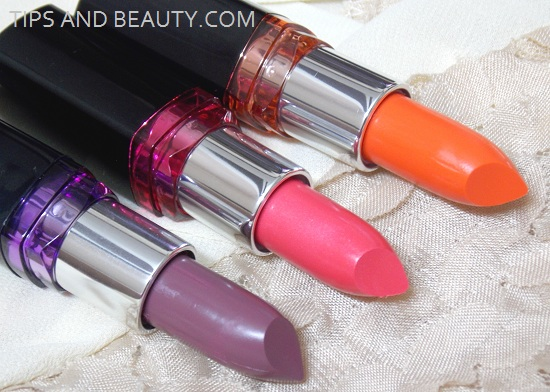 lipsticks in makeup