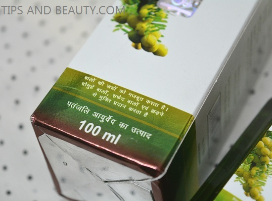 patanjali amla hair oil review, ingredients