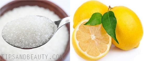 sugar and lemon for upper lip hair removal