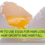 How to Use Egg White or Egg Yolk for Hair Growth, Hair loss, Hair fall