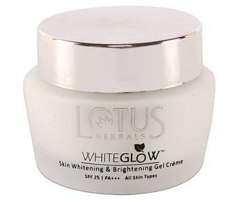 Lotus Herbals Whiteglow Skin Whitening and Brightening Gel crème