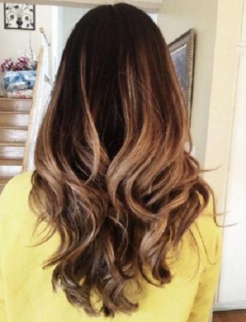 Hair Gradient Dye Natural