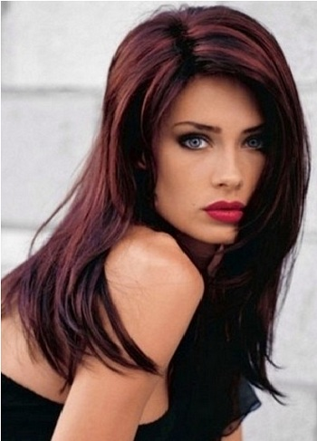 Top Dark Hair Colors For Fair Skin  Dark Brown Hairs