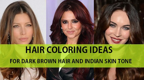 hair color idea for indian hir