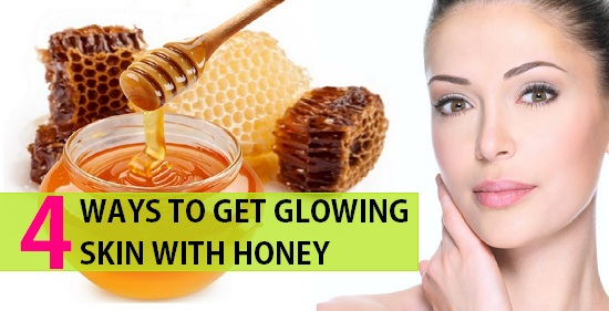 ways to get glowing skin with honey