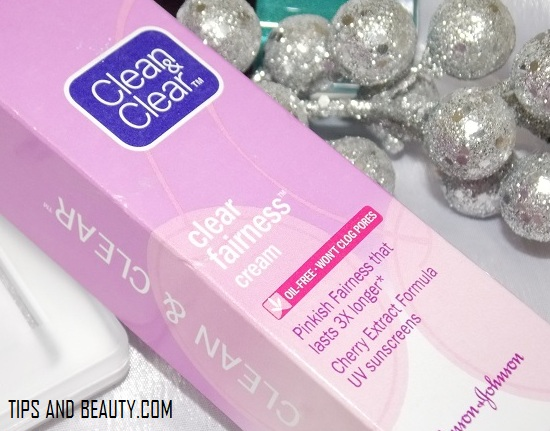 Clean and Clear Fairness Cream Review, india