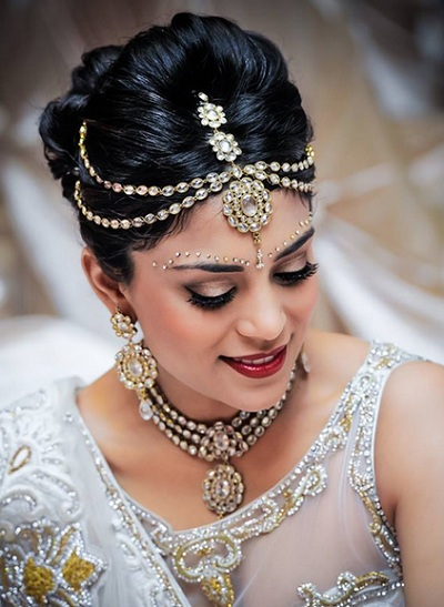 Indian Bridal hairstyles 5
