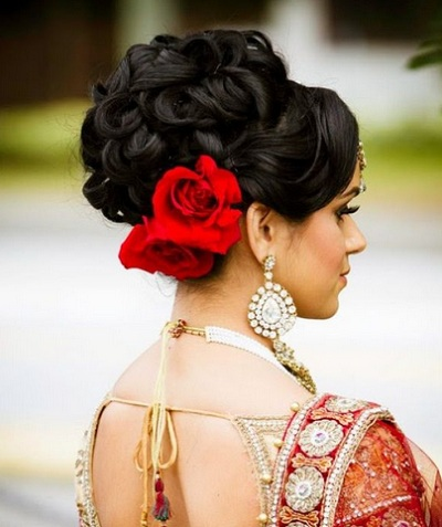 Indian Bridal hairstyles 6