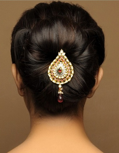 Indian Bridal hairstyles 8