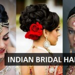 10 Indian Bridal hairstyles for Weddings, Cocktail and Reception