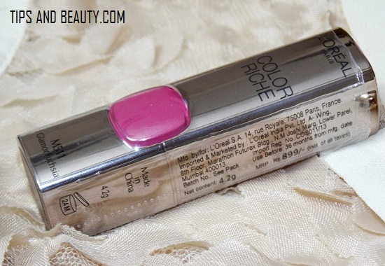 L'Oreal Paris moist matte lipstick color India review price shades