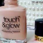 Revlon Touch and Glow Foundation Moisturising Makeup Review