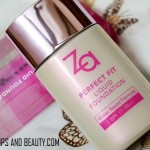 Za Perfect Fit Liquid Foundation OC30 Review Price Swatches