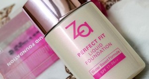 Za Perfect Fit Liquid Foundation India OC30 Review price swatches