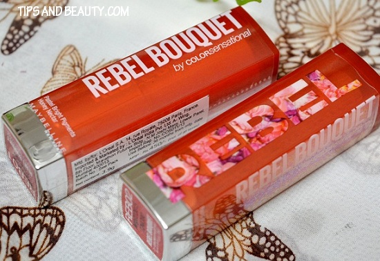 maybelline colorsensational rebel bouquet REB 01 reb 02