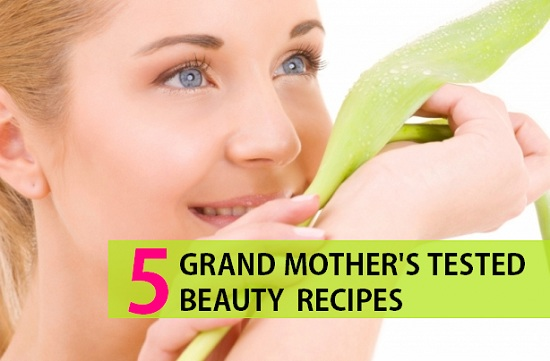 Grandmothers Beauty Tips