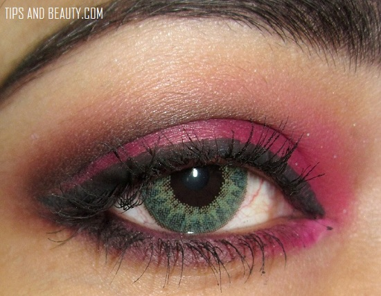 how to do the smokey eye look step by step