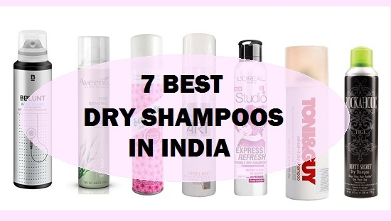 top best dry shampoos in india