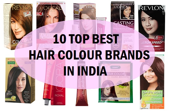 Best 10 Hair Color Brands in India
