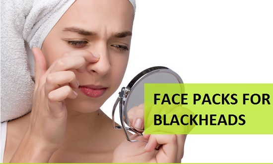 4 Face Packs to Remove Blackheads