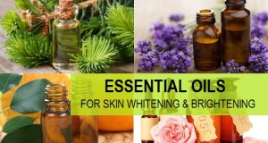 Essential oils for skin whitening and brightening