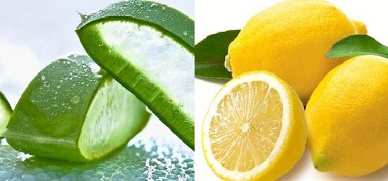 aloe vera gel for dandruff with lemon juice