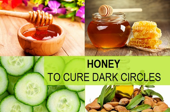 How to use Honey for Dark Circles Treatment